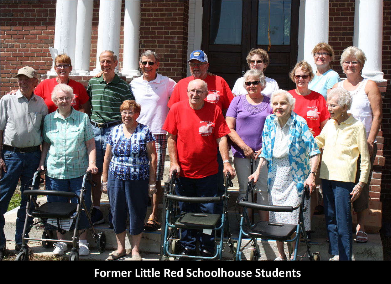 Former Little Red Schoolhouse Students